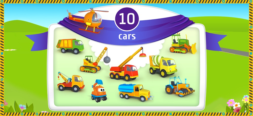 Hack tool for Leo the Truck and Cars Game