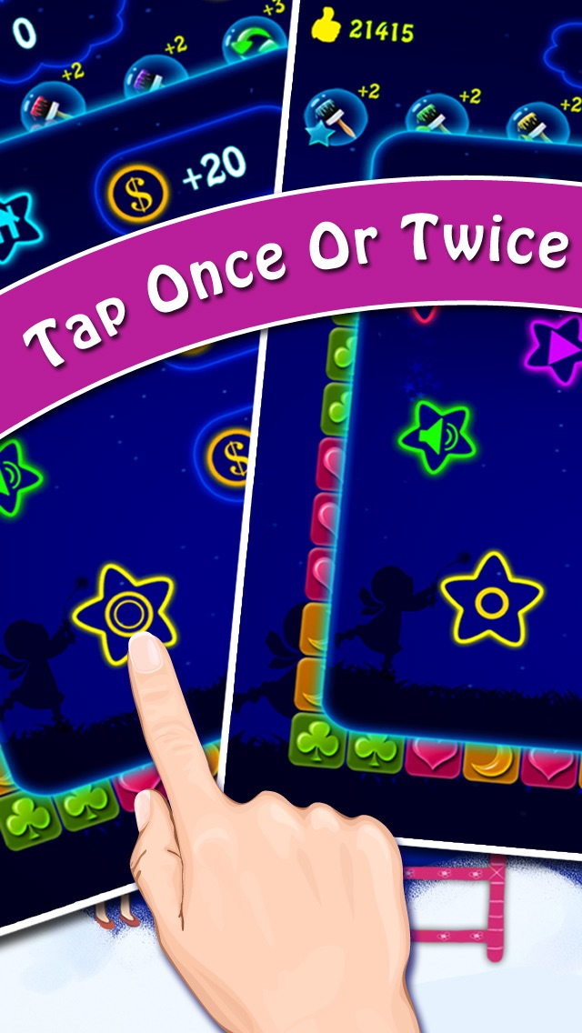 Hack tool for Lucky Stars 2 - A Free Addictive Star Crush Game To Pop All Stars In The Sky