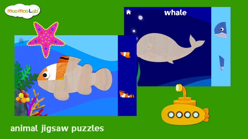Hack tool for Marine Animals - Puzzle, Coloring and Underwater Animal Games for Toddler and Preschool Children