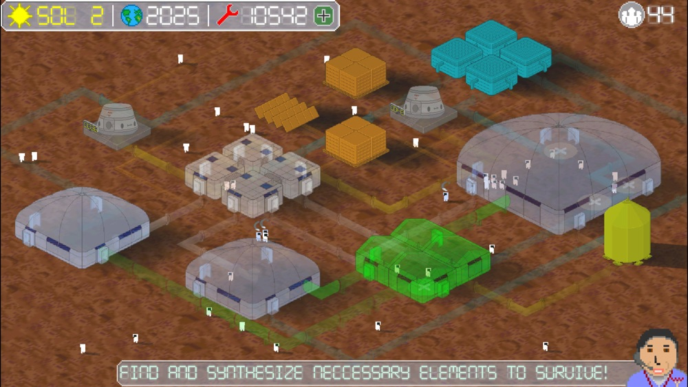 Hack tool for Mars Tycoon