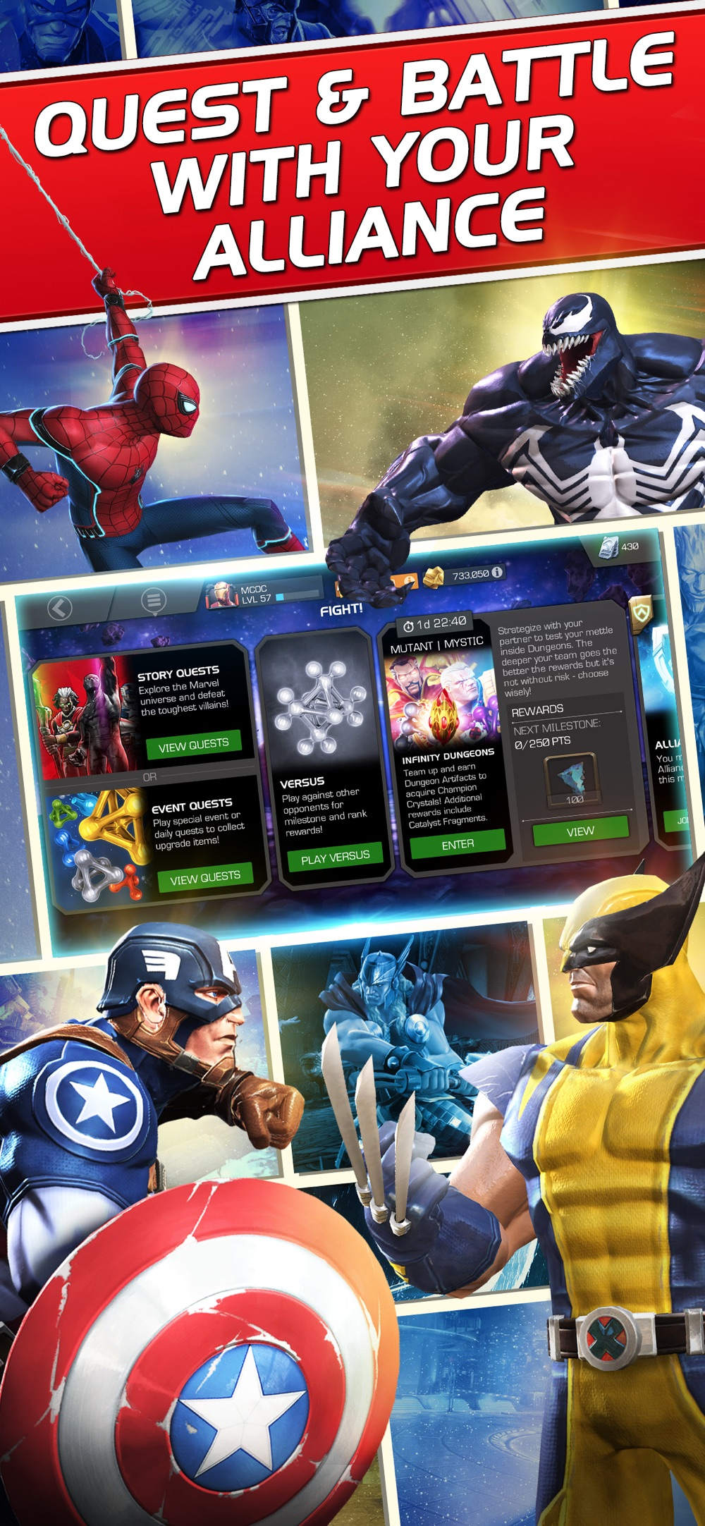 Hack tool for Marvel Contest of Champions