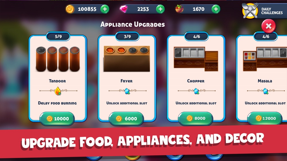 Hack tool for Masala Express: Cooking Game