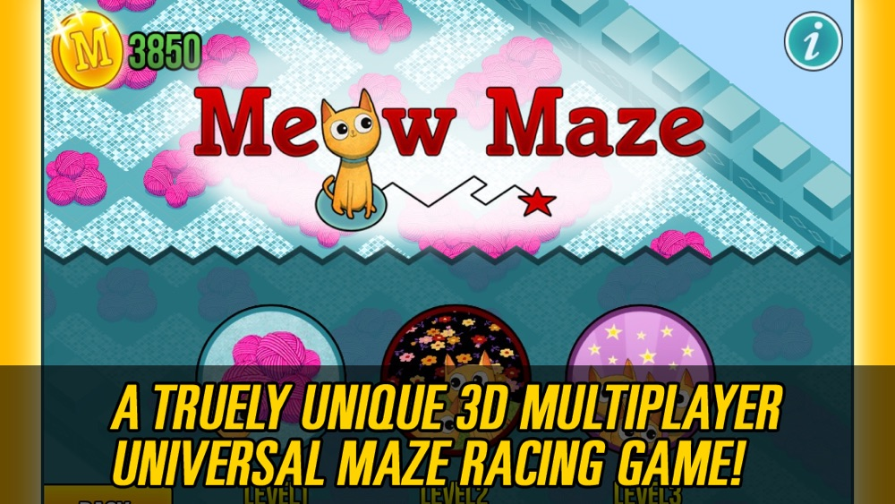 Meow Maze 3d Live Multiplayer Racing Pro cheat codes