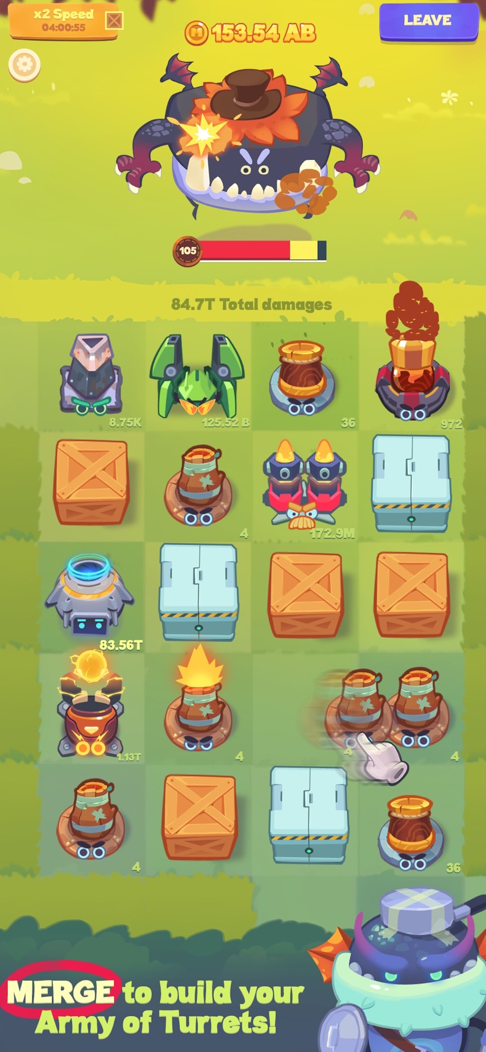 Hack tool for Merge Battle