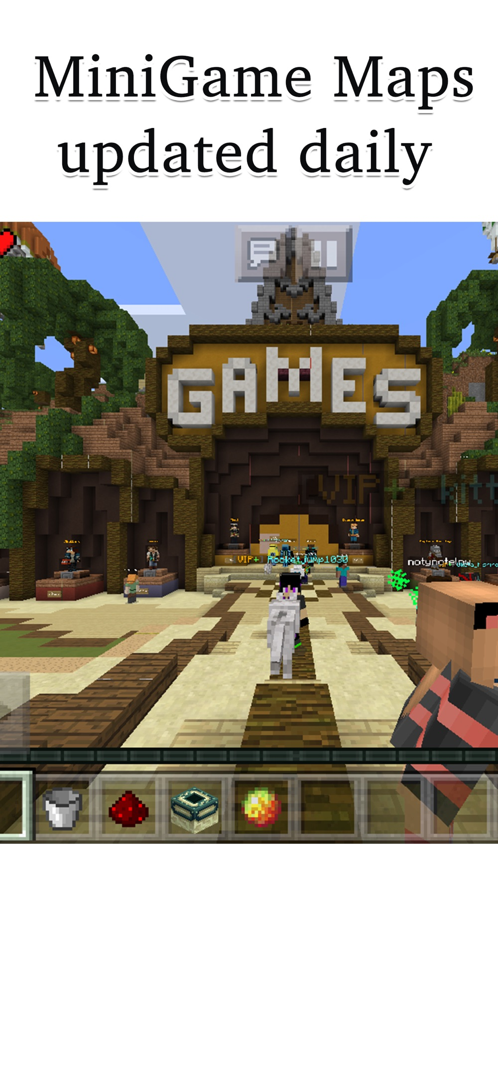 Hack tool for MineServer For Minecraft