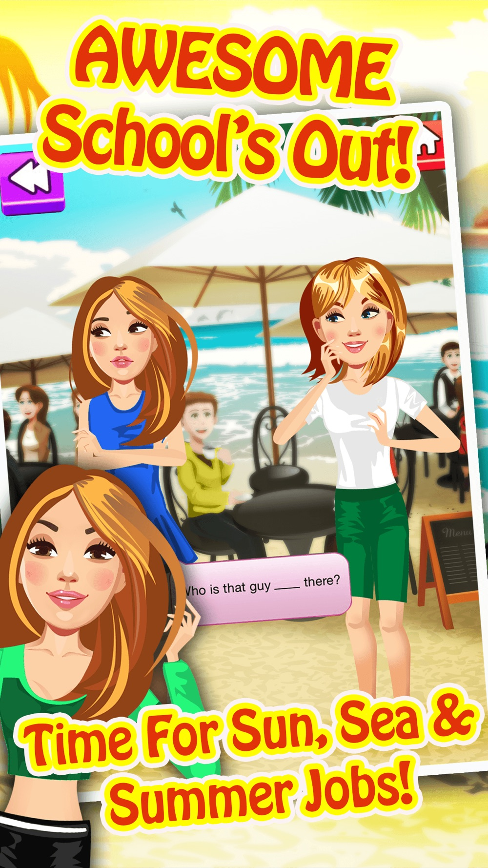 My Teen Life Summer Job Episode Game – The Big Fashion Makeover Cover Up Interactive Story Free hack tool