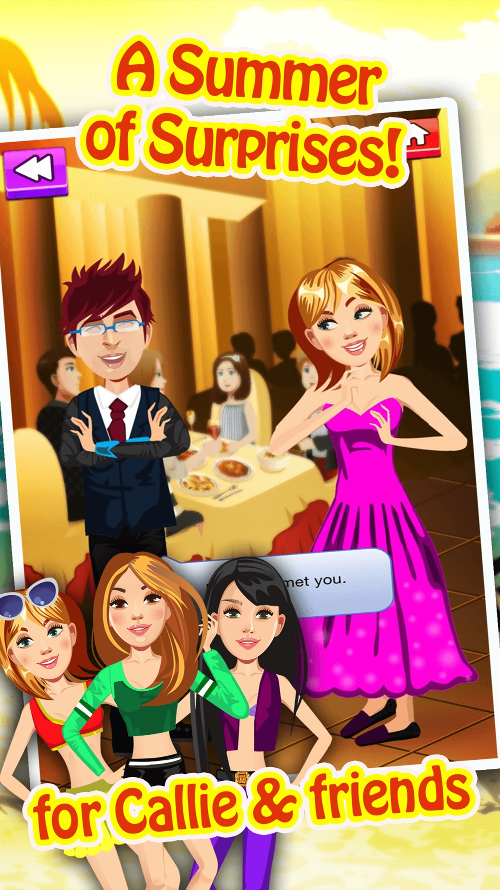 Hack tool for My Teen Life Summer Job Episode Game - The Big Fashion Makeover Cover Up Interactive Story Free