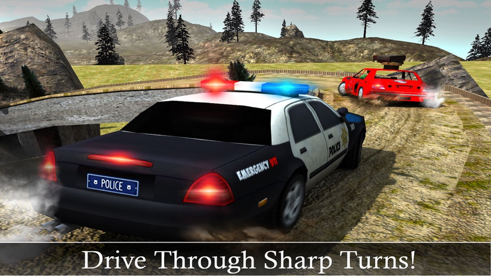Off-Road Police Car Driver Chase: Real Driving & Action Shooting Game hack tool