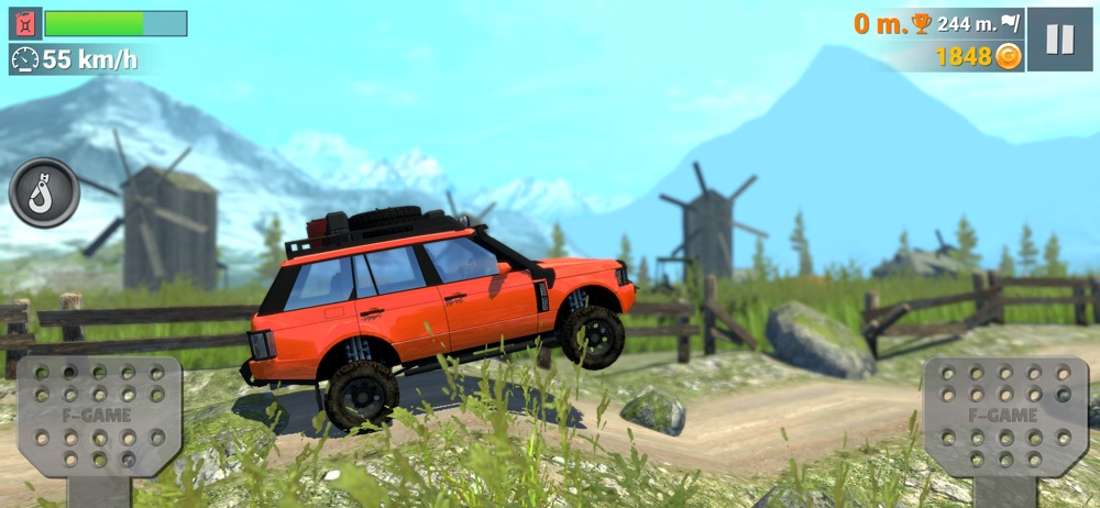 Off-Road Travel: Road to Hill hack tool