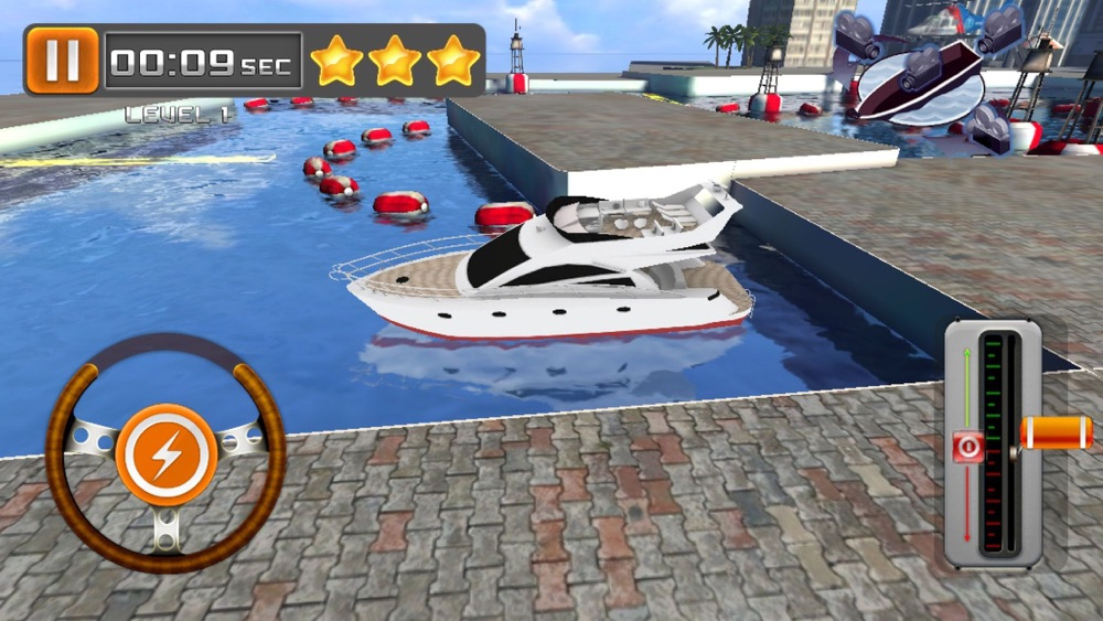 Park My Yacht – 3D Super Boat Parking Simulation cheat codes
