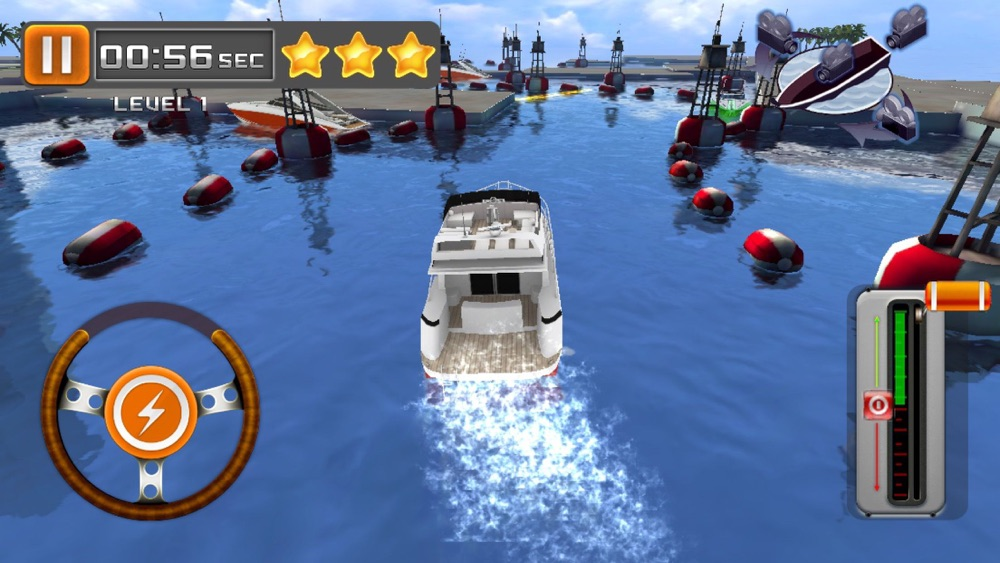 Hack tool for Park My Yacht - 3D Super Boat Parking Simulation