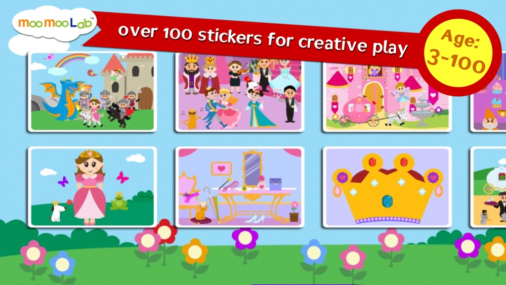 Princess Sticker Games and Activities for Kids hack tool
