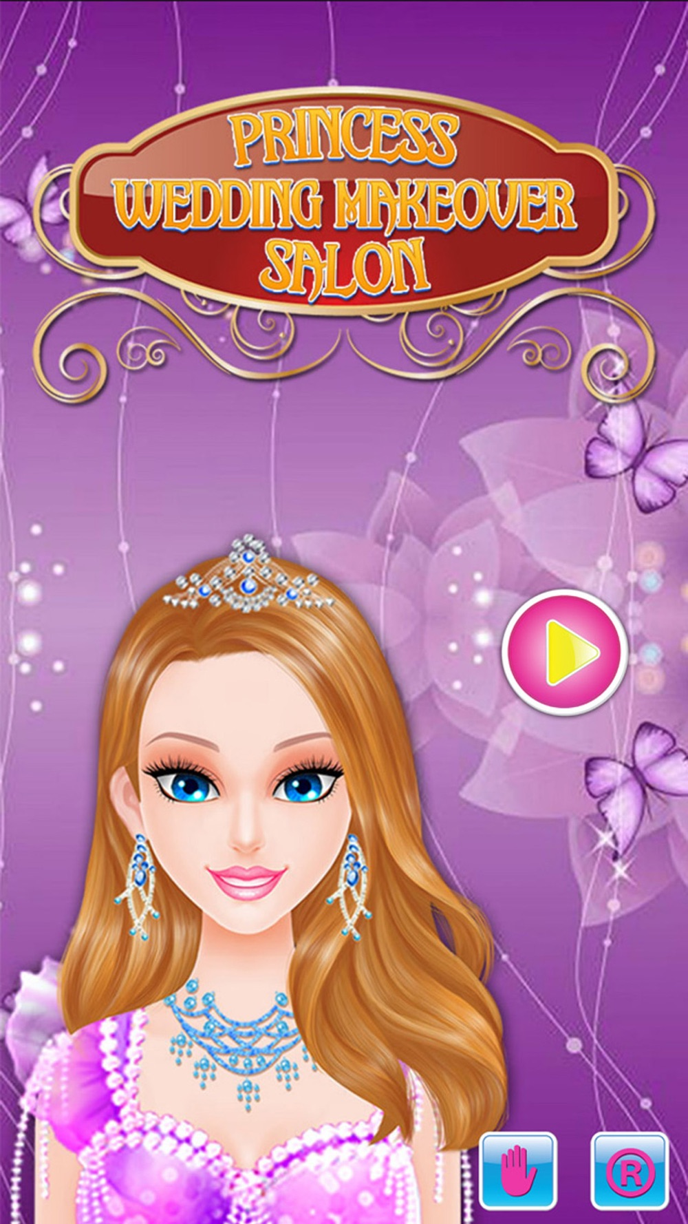 Princess wedding makeover salon : amazing spa, makeup and dress up free games for girls cheat codes