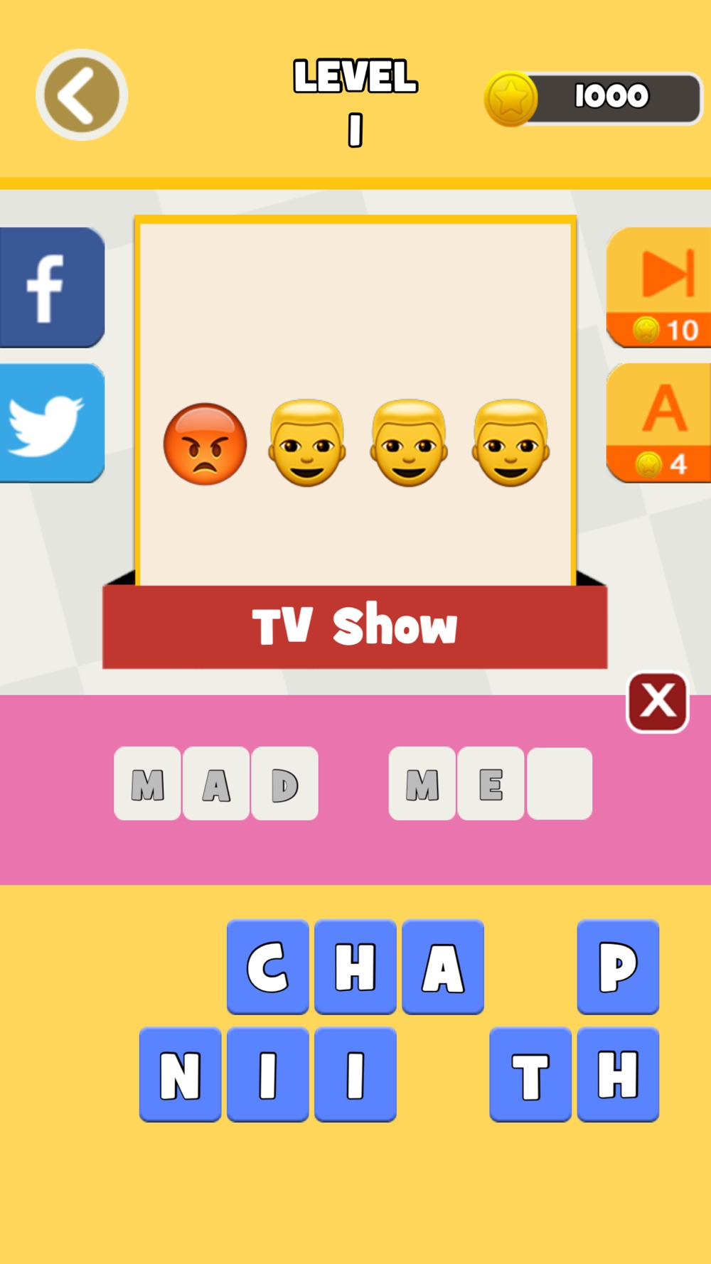 QuizPop Mania! Guess the Emoji Movies and TV Shows – a free word guessing quiz game hack tool