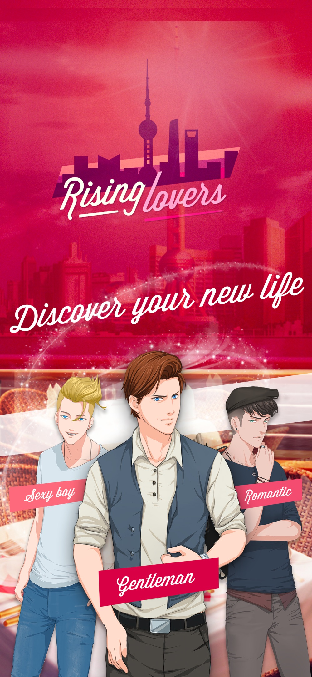 Rising Lovers cheat codes