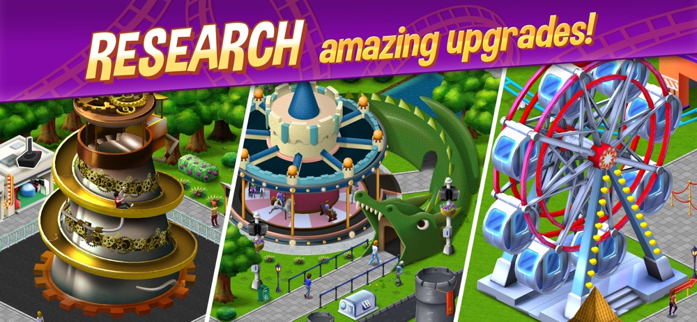 Hack tool for RollerCoaster Tycoon® Story