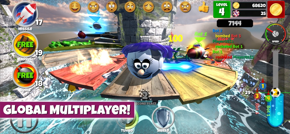 Hack tool for Rotomania 3D: Run, Jump to Top