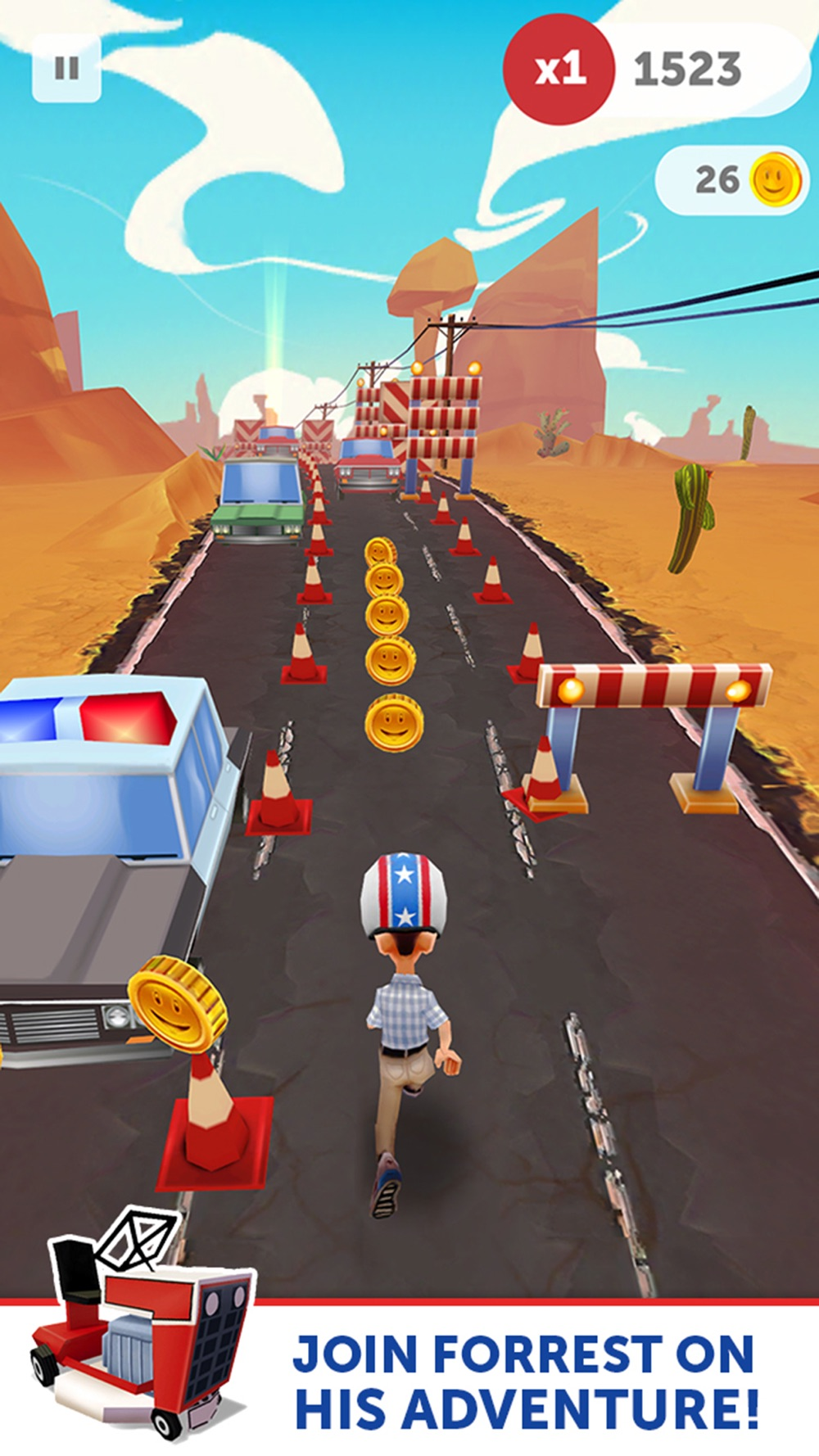 Run Forrest Run – The Official Game cheat codes