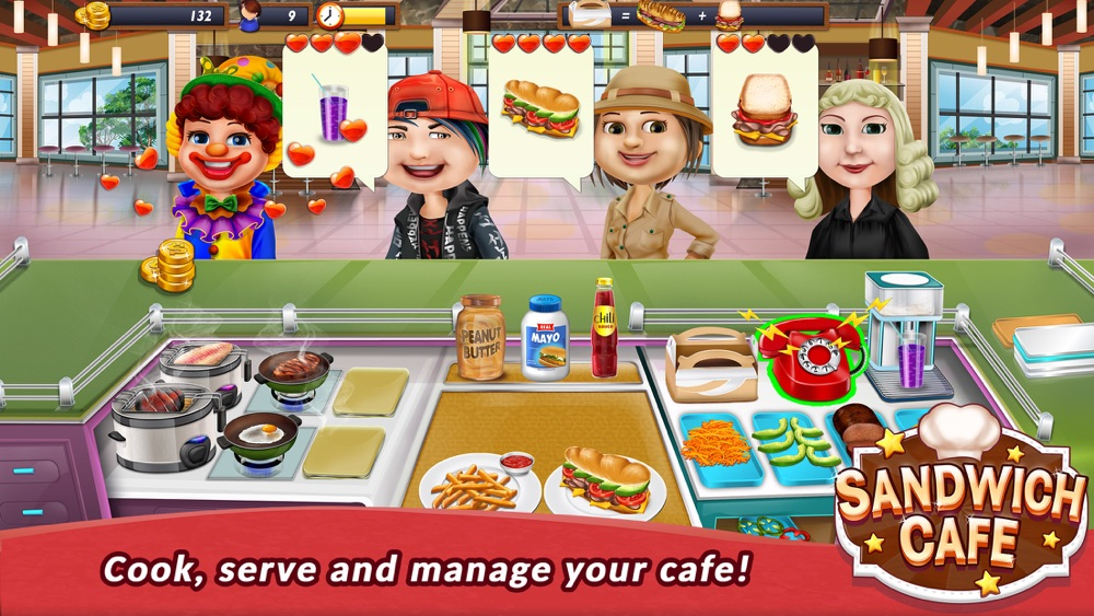 Hack tool for Sandwich Cafe Game – Cook delicious sandwiches!