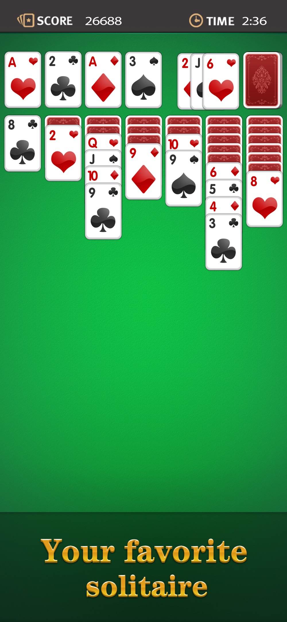 Hack tool for Solitaire *