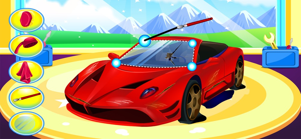 Hack tool for Sports car wash - car care