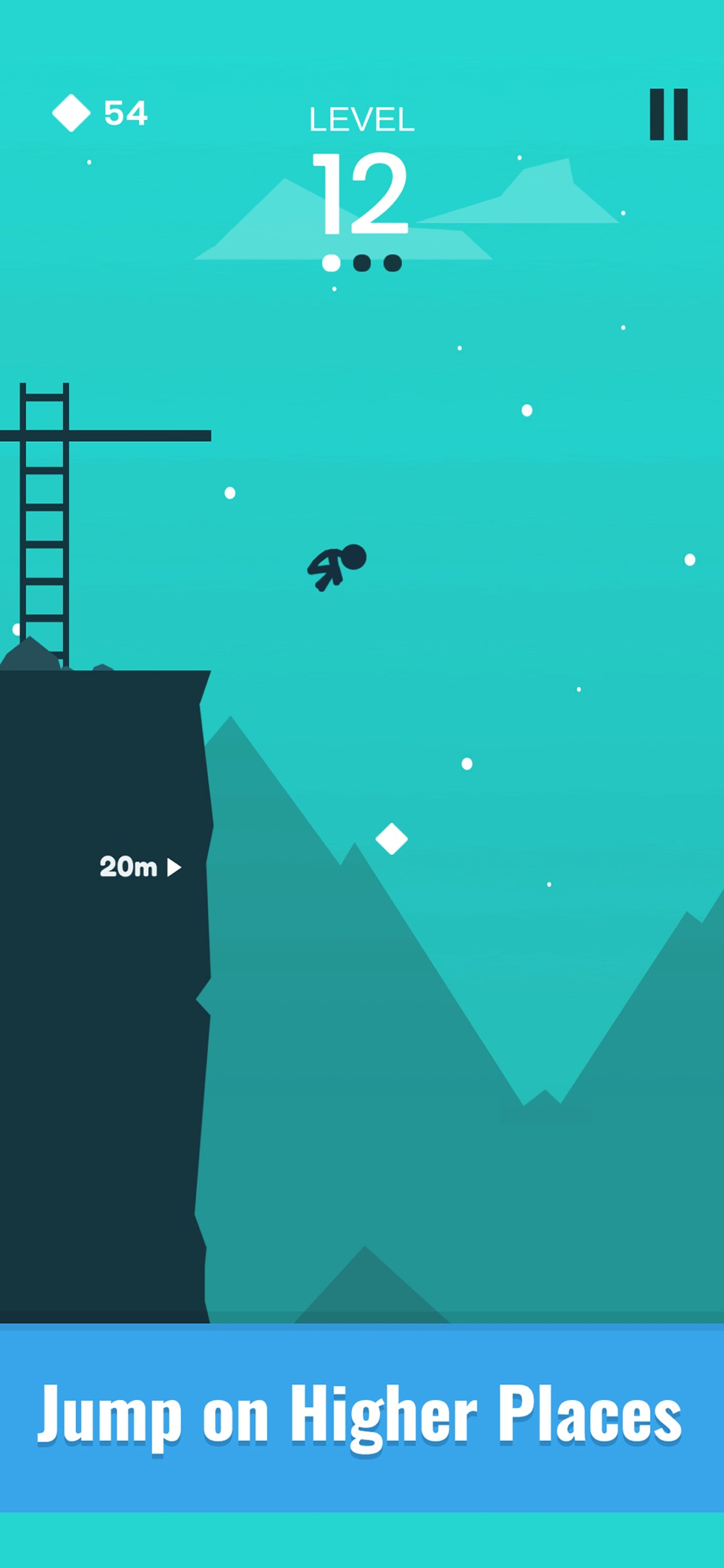 Stickman Cliff Flip Diving hack tool