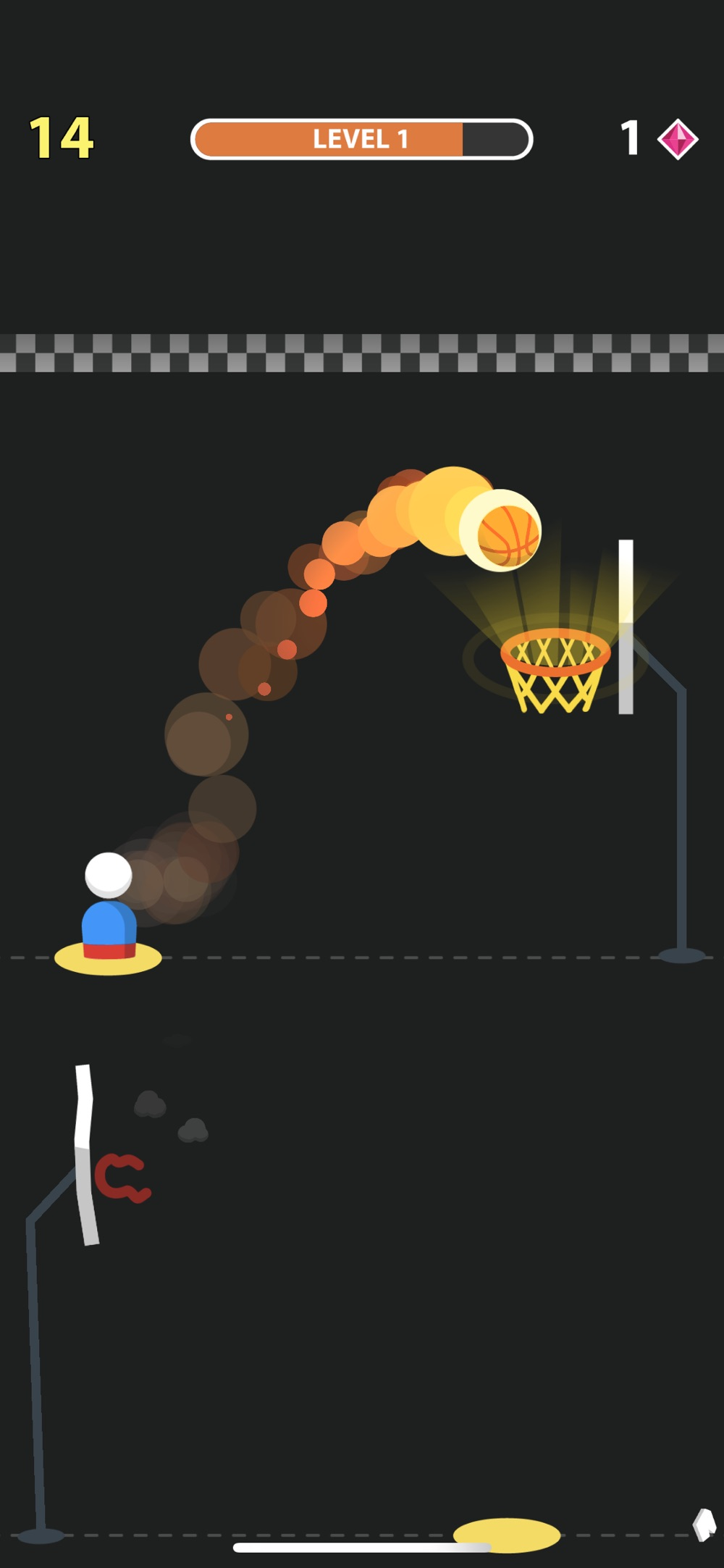 Hack tool for Street Dunk!