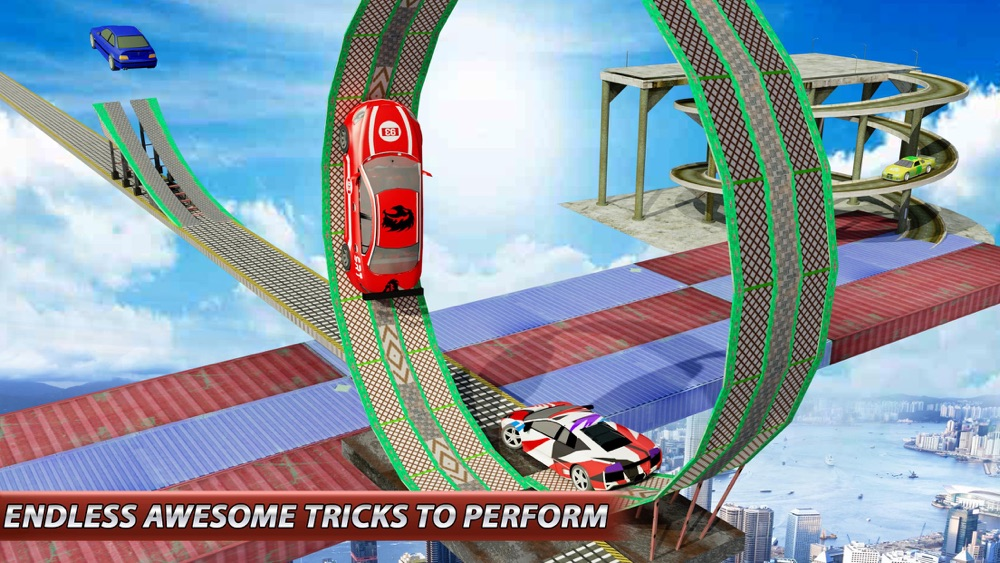 Hack tool for Stunt Car Drive: Impossible Tracks