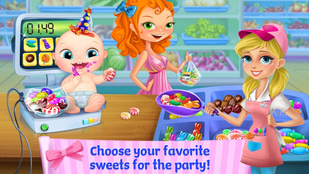 Supermarket Girl Party cheat codes