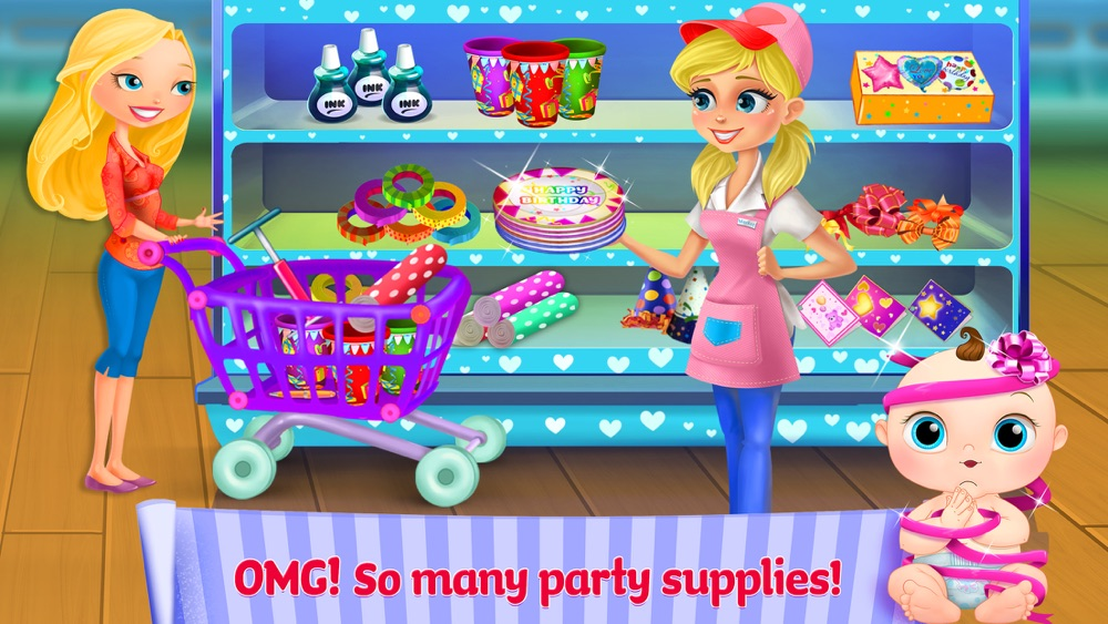 Hack tool for Supermarket Girl Party