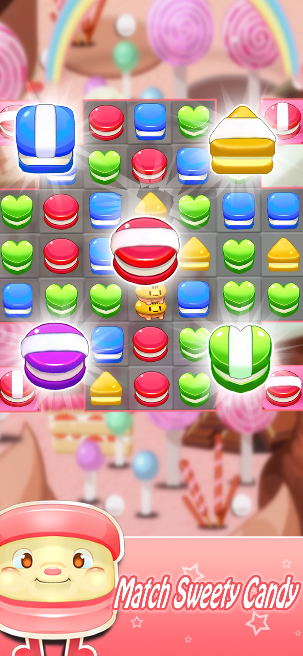Hack tool for Sweet Candy Party