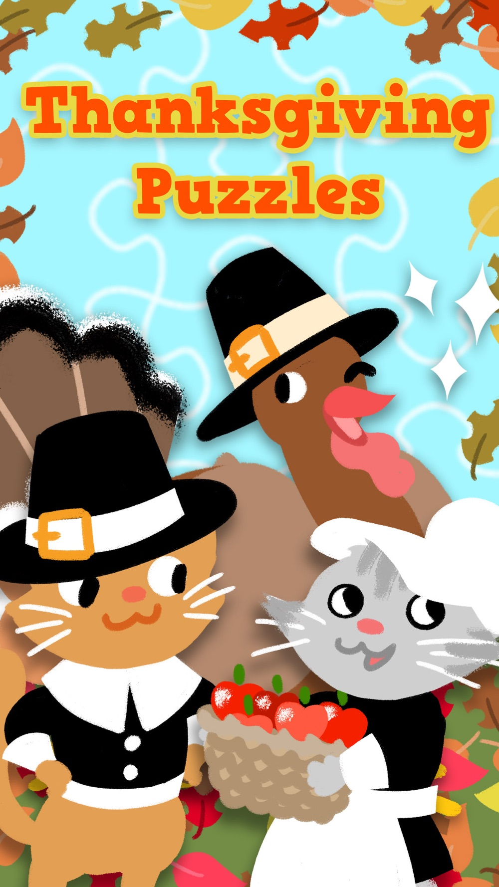 Thanksgiving Puzzles – Fall Holiday Games for Kids cheat codes