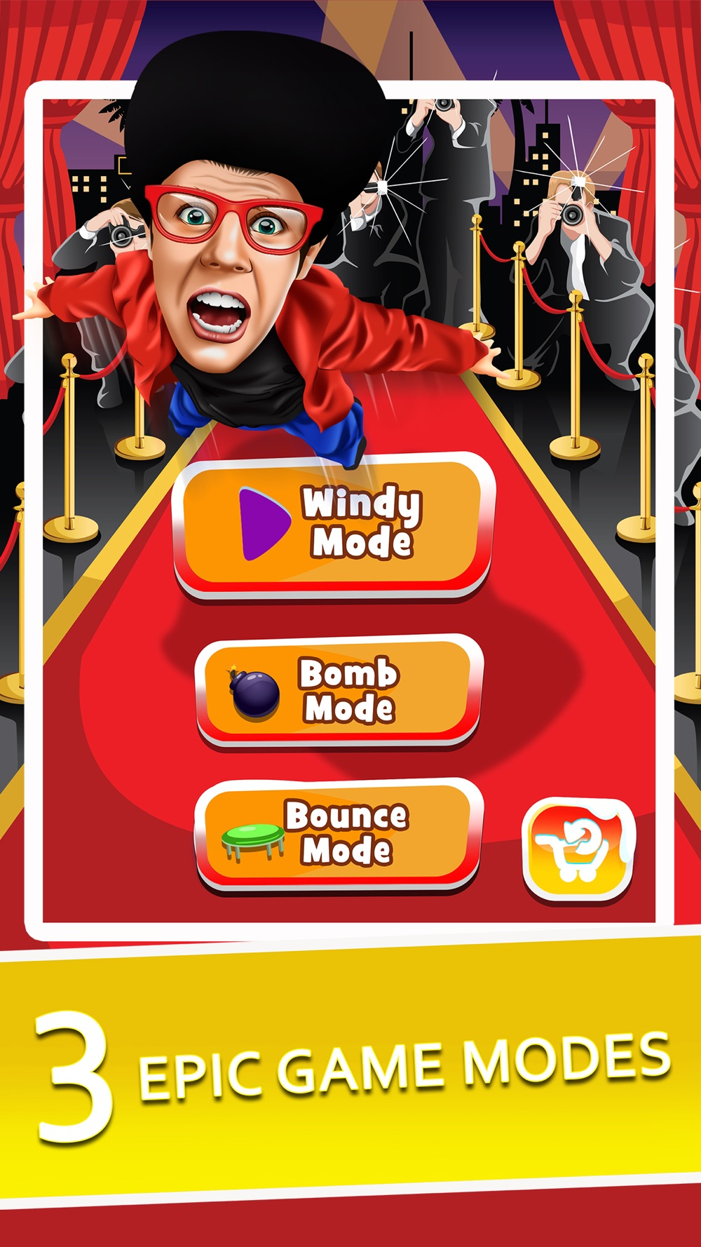 Hack tool for Toss the Celebrity - Fun Jumping Simulator & Jump Hoverboard Racing Games!