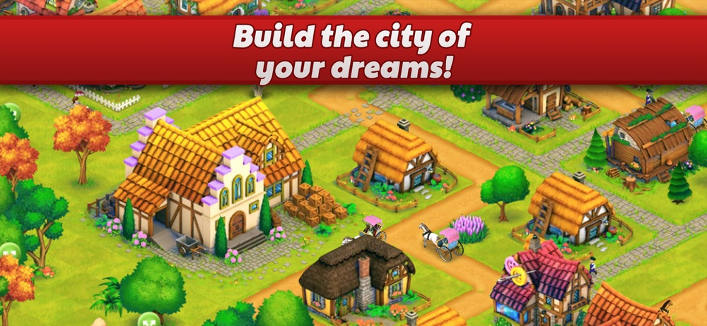 Hack tool for Town Village: Farm Build Trade