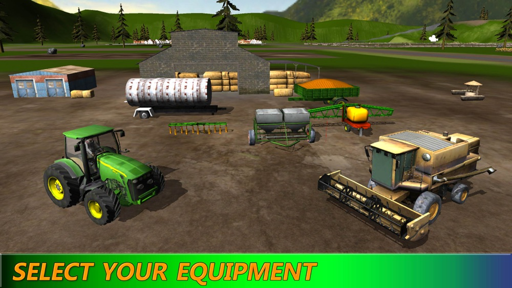 Hack tool for Tractor Farm Harvest: Snow Plow Driver HD