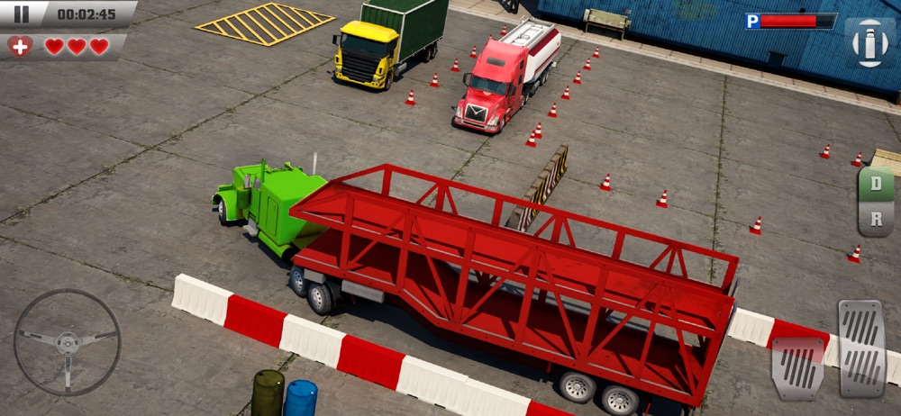 Hack tool for Trucker Parking 3D