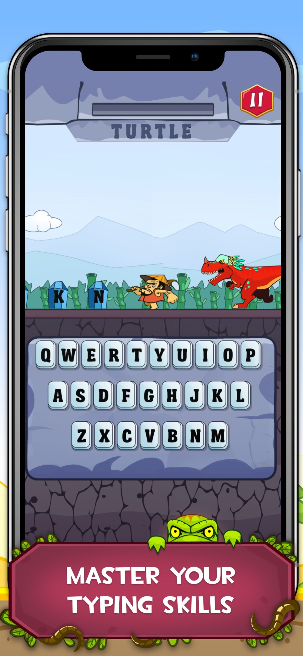 Typing Practice – Dino Hunting cheat codes