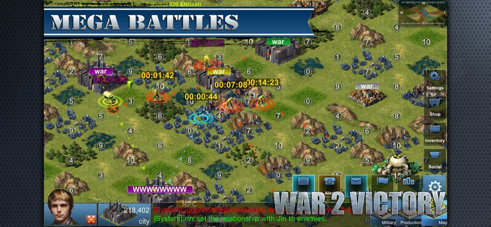 Hack tool for War 2 Victory