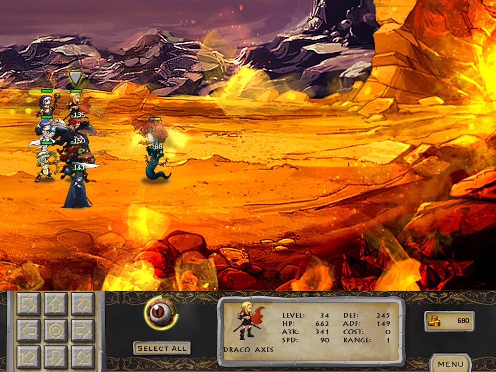 War of the Gods for iPad cheat codes