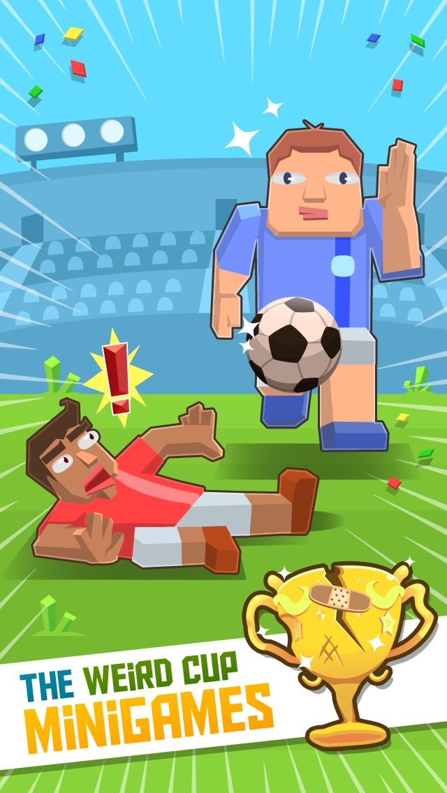 Weird Cup – The World's Craziest Soccer Mini Games cheat codes