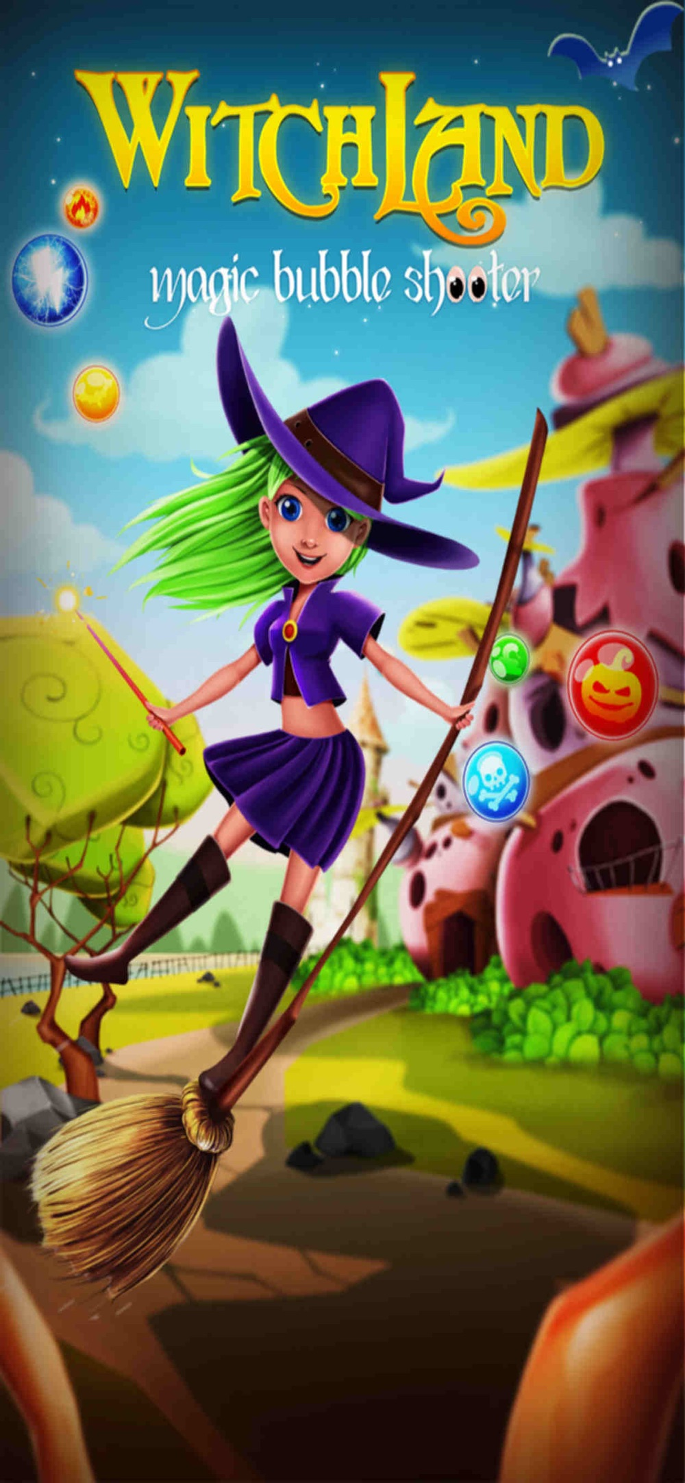 WitchLand: Bubble Shooter cheat codes