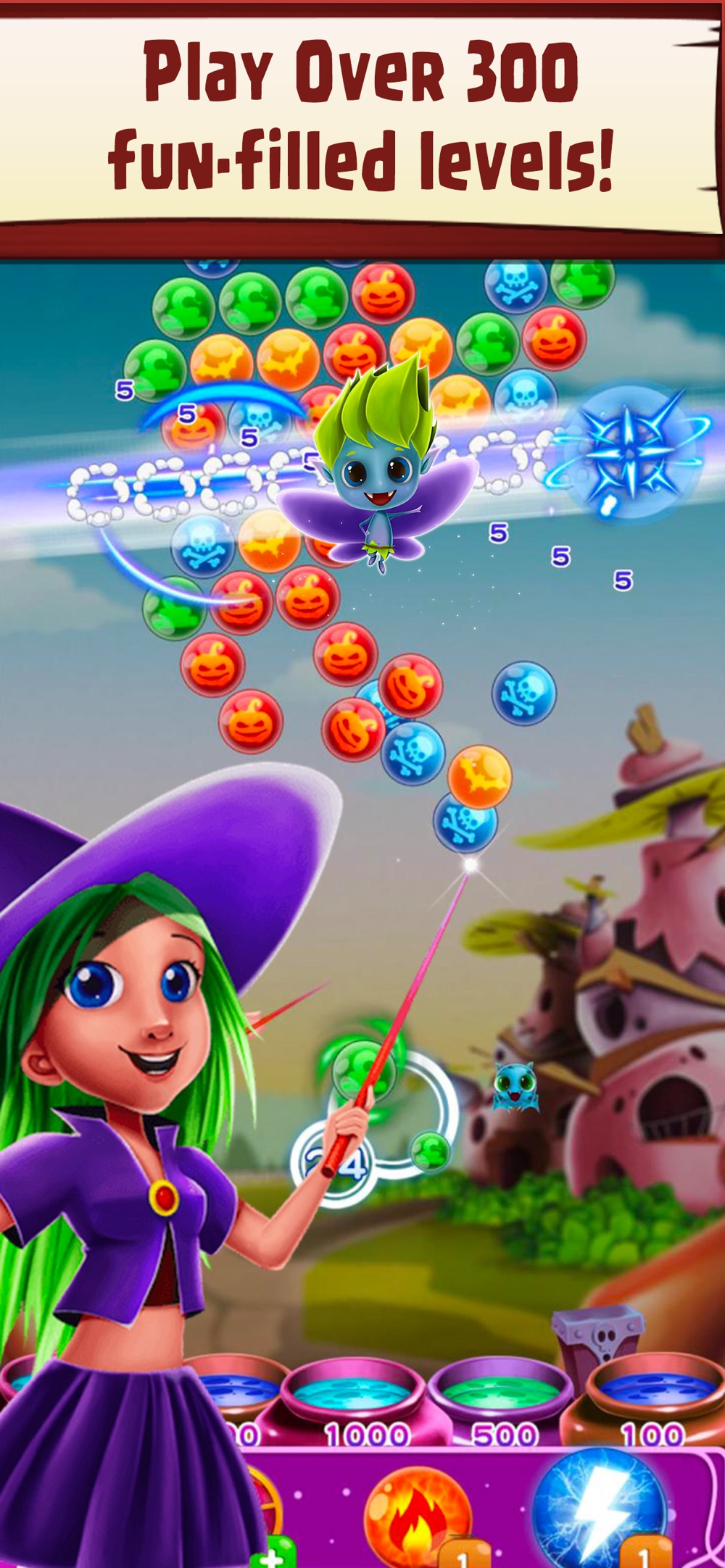 Hack tool for WitchLand: Bubble Shooter