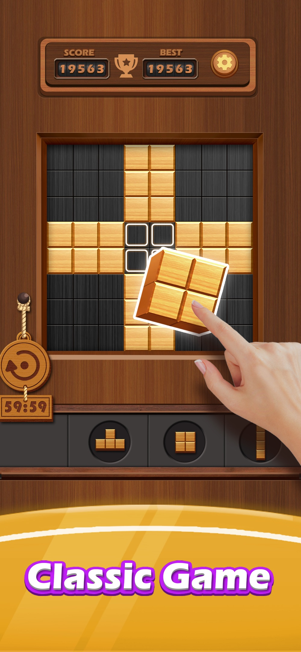 Wood Cube Puzzle – Relaxing hack tool