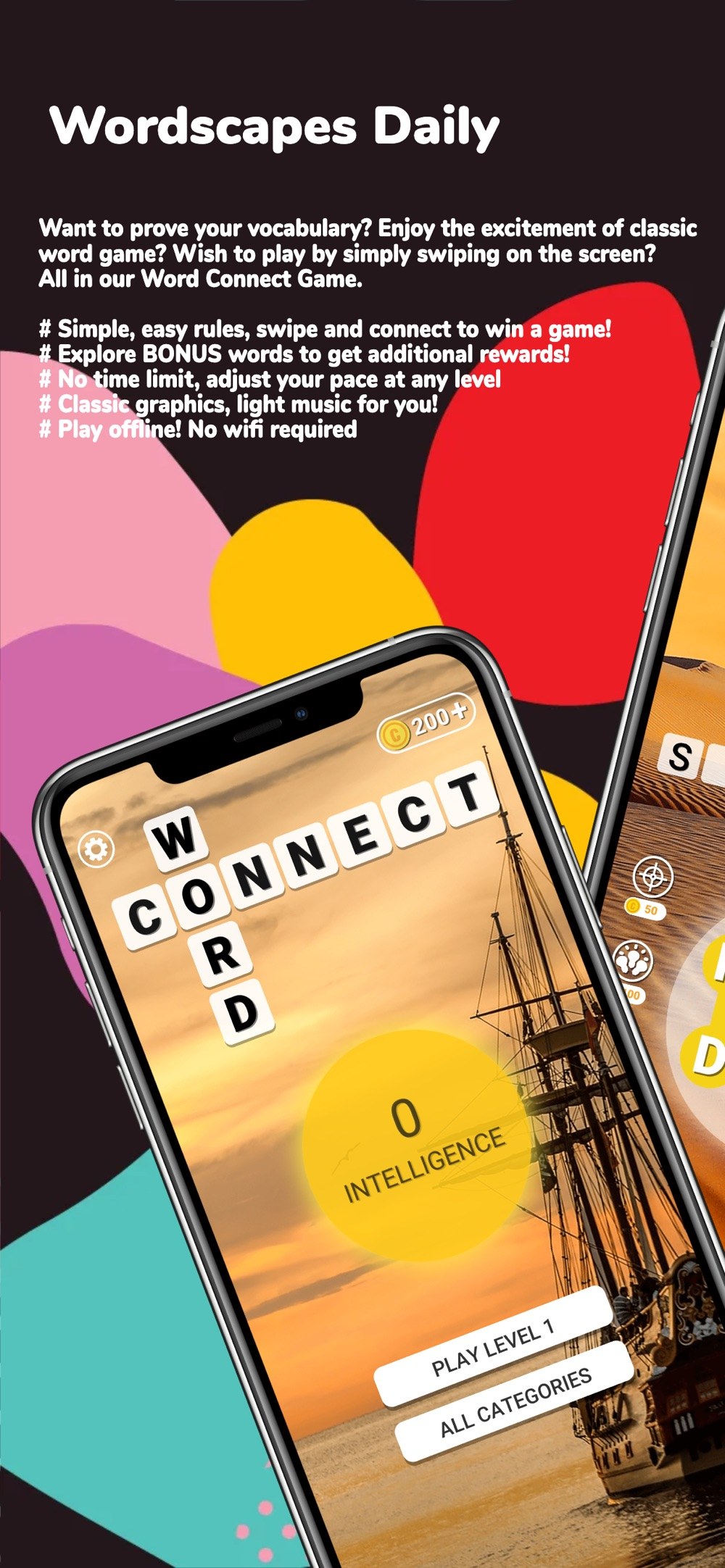 Word Connect: Wordscapes Daily cheat codes