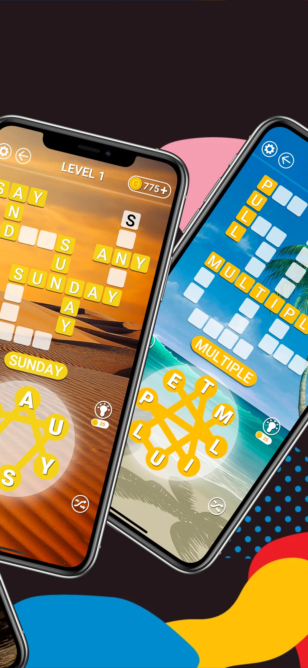 Hack tool for Word Connect: Wordscapes Daily