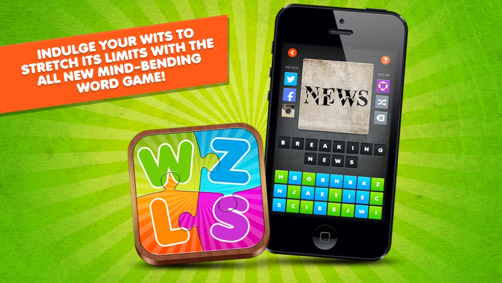 Hack tool for Word Puzzle Game Rebus Wuzzles