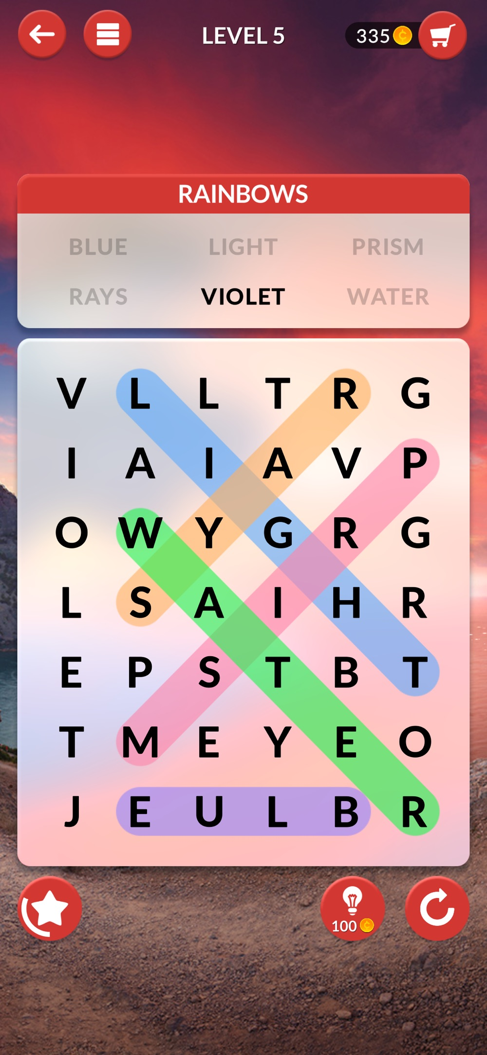 Wordscapes Search hack tool