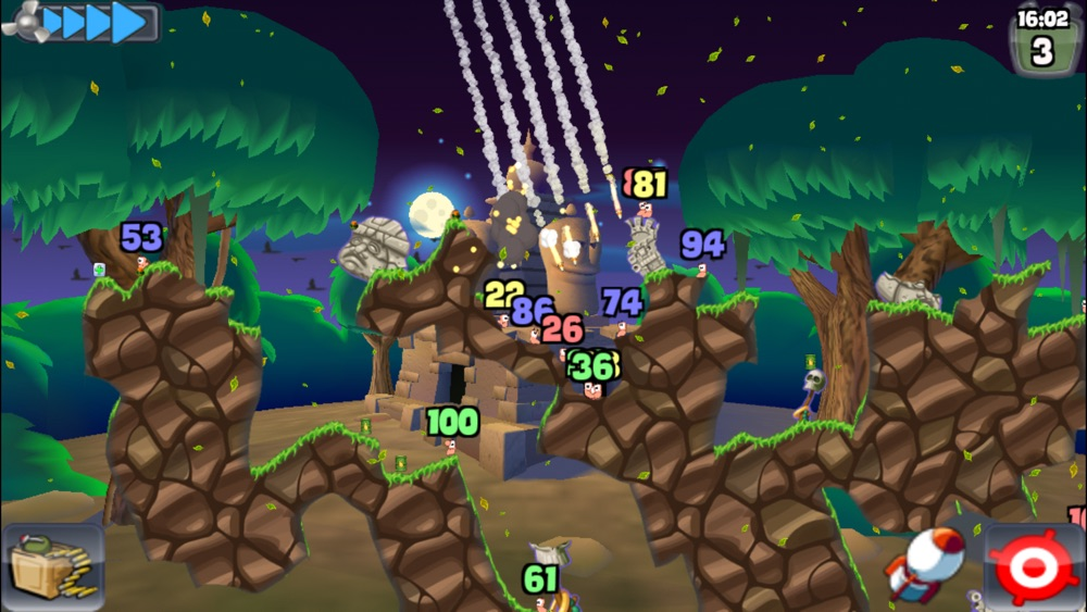 WORMS cheat codes